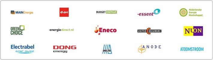 overzicht energieleveranciers