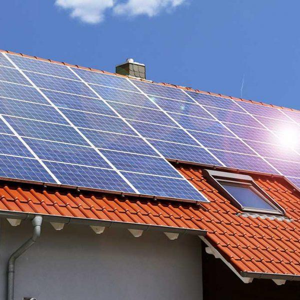 Terugleveren energie uit zonnepanelen