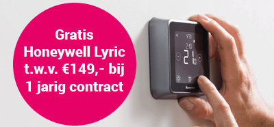 gratis Honeywell Lyric bij essent