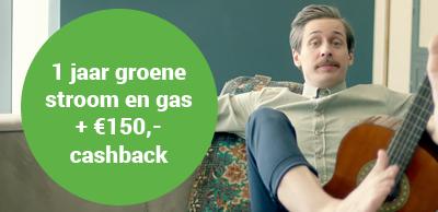 Energiedirect aanbieding cashback 1 jaar