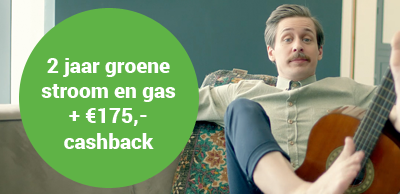 Energiedirect aanbieding cashback 2 jaar