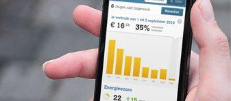 Oxxio app voor online inzicht